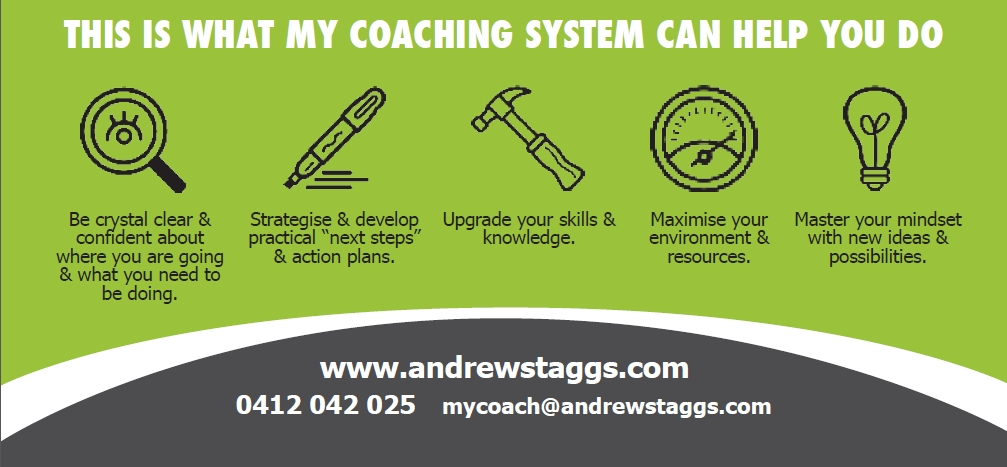 Coaching business card - back web