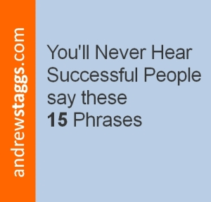 15 phrases successful people